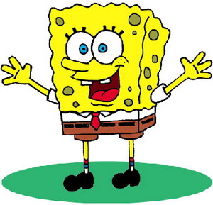 Sponge Bob cartoon character - The Cartoons World